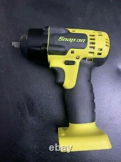 NEW Snap-on Lithium Ion CT8810AHV 18V Volt cordless 3/8 impact Wrench/Gun