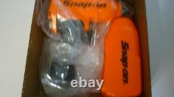New Snap On 3/8 Orange Air Impact Wrench Gun In The Box