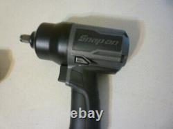 New Snap On Air Powered Powerful 1/2 Drive Gunmetal Color Impact Wrench Gun