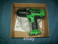 New Snap-on Lithium Ion Ct8850gdb 18V 18 Volt cordless 1/2 impact Wrench / Gun