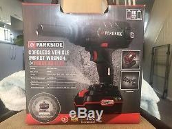 Parkside powerful Cordless car Vehicle Impact Wrench Gun 20V team