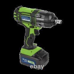 SEALEY CP400LIHV 18V Cordless 1/2 Impact Wrench Gun 3Ah Li-ion Battery Charger