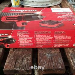 SNAP ON 18V-1/2 BODY MonsterLithium Cordless Impact Gun Wrench CTEU8850AWB