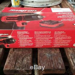 SNAP ON 18V-1/2 drive MonsterLithium Cordless Impact Gun Wrench CTEU8850AWB. NEW
