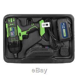 Sealey CP400LIHV Impact Wrench Gun 18V Li-ion 1/2Sq 1 x 3.0Ah & Charger / Case