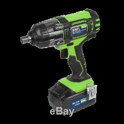 Sealey CP400LI 18volt Cordless 1/2 Impact Wrench Gun 3Ah Li-ion 2 x Batteries