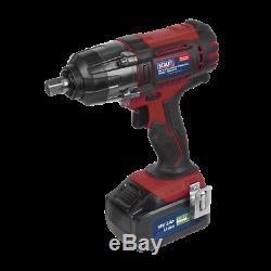 Sealey CP400LI 18volt Cordless 1/2 Impact Wrench Gun 3Ah Li-ion Battery