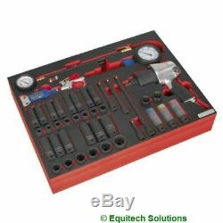 Sealey TBTP08 Tool Chest Tray 1/2 Impact Wrench Gun Sockets & Tyre Tool Set