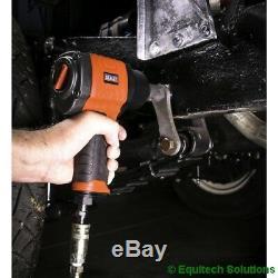 Sealey Tools GSA6002 Composite Air Impact Wrench Gun 1/2 Sq Drive Twin Hammer