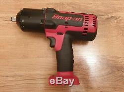 Snap On 18v Cordless Monster Lithium 1/2 Impact Gun Wrench CTEU8850 Body Only