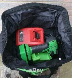 Snap On 18v Green 3/8 Drive Impact Gun Wrench, CTEU8810BG model