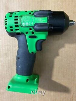 Snap On 18v Green 3/8 Drive Impact Gun Wrench, Model CTEU8810BG