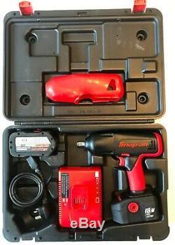 Snap On 18v Impact Gun 1/2 Drive Cordless Impact Wrench Gun CTU6850 CTB4187