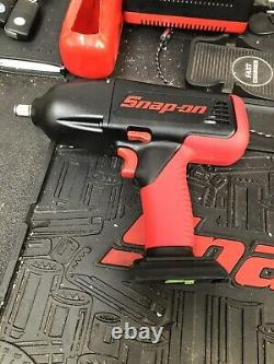 Snap On 18v Impact Wrench Gun CT6850 Ni-cad 1/2 Body Only Batteries Charger
