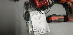 Snap On 18v Monster Lithium Ion 1/2 Drive Cordless Impact Wrench Gun Tool CT785