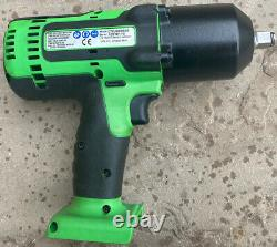 Snap On 1/2 18v Impact Wrench Gun Green Neon CTEU8850AG CT8850 Hardly Used