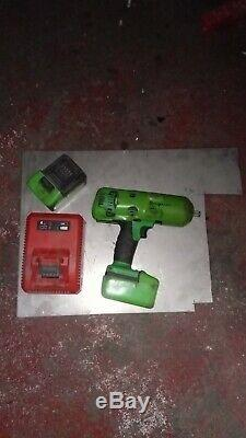 Snap On 1/2 Drive 18V Lithium Cordless Impact Wrench Kit Electric Gun