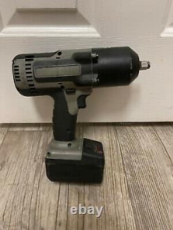 Snap-On 1/2 Impact Wrench 18V CT8850S With Battery CTB8185BK Gun Metal