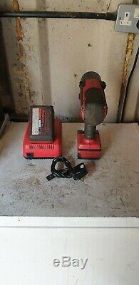 Snap On 1/2 Impact Wrench Gun Spare Battery And Charger