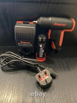 Snap On 1/4 Cordless Impact Wrench Gun 7.2v With Battery & Charger CT525 CTCF572