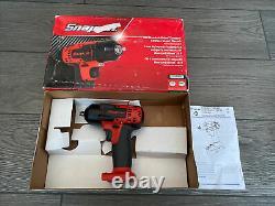 Snap On 3/8 Drive 18v Lithium-Ion Impact Gun Wrench Red CTEU8810BDB CT8810
