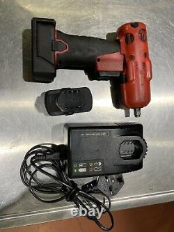 Snap On 3/8 Impact Wrench Gun 14.4v CT761A With 2 batteries & accessories