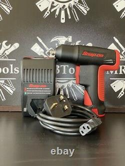 Snap On CT525 7.2v 1/4 Cordless Impact Gun Wrench With Battery & Charger Set