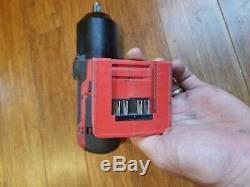 Snap On CT8850 18V 1/2 Drive Cordless Lithium Impact Wrench gun bag instruction