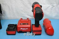 Snap-On CT8850 18V Li-Ion 1/2 Dr Impact Socket Wrench Gun Set Tool bag Minty