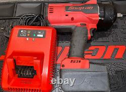 Snap On CT9075 CTEU9075 Impact Wrench Gun + Battery And Charger CTB8185 CTC720