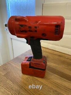Snap On Cordless impact Wrench / gun 18v 1/2 CTU9075