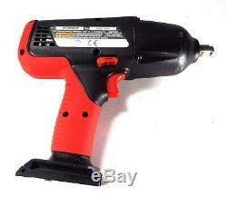 Snap On Ctu4850ho 1/2 Drive Black & Red Bare 18v Imapct Gun / Wrench