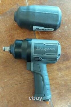 Snap On Pt850gm Gun Metal Gray 1/2 Drive Impact Air Wrench Gun Pt850, Pt 850