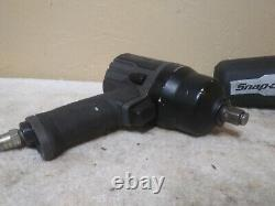 Snap On Pt850gmg Gun Metal Gray 1/2 Drive Impact Air Wrench Gun
