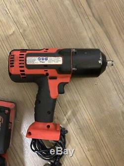 Snap On Tools 18v Monster Lithium Ion 1/2 Drive Cordless Impact Wrench Gun
