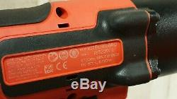 Snap On Tools 18v Monster Lithium Ion 1/2 Drive Cordless Impact Wrench Gun (4)
