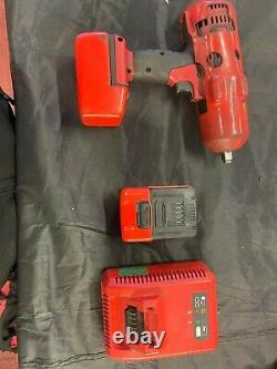 Snap on 18v-1/2 body cordless impact gun wrench cteu8850