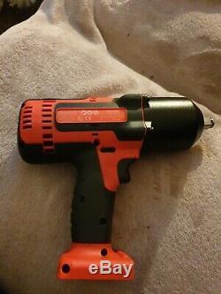 Snap on 18v lithium 1/2 drive impact wrench gun CTEU8850A0