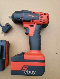 Snap on 3/8 Drive 18v Lithium Cordless Impact Wrench Gun CT8810A Snapon ctb8185