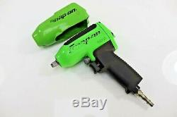 Snap on 3/8 Drive extreme green impact gun wrench heavy duty MG325