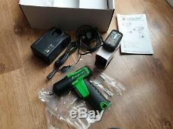 Snap on 3/8 Green Lithium Cordless Impact Wrench Gun Kit