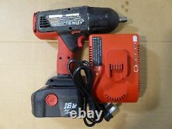 Snap-on CTU4850 18v 1/2 impact wrench gun & 1 Battery & Charger