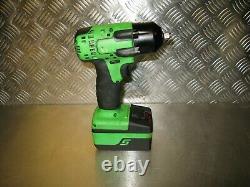 Snap-on Impact Wrench Body + Battery Snap On Impact Gun Cteu8810b + 4.0ah 3/8'