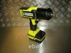 Snap-on Impact Wrench Body + Battery Snap On Impact Gun Cteu8850 + 4.0ah 1/2'