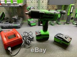 Snap-on Lithium Ion CT8850G 18V 18 Volt cordless 1/2 impact Wrench / Gun