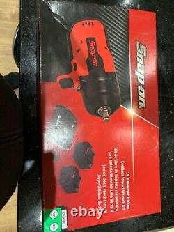 Snap on ctu907g green monster lithium cordless impact gun wrench kit new