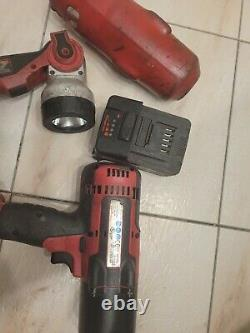 Snapon Snap On CT8850 18V 1/2 Drive w light 1 Lithium Impact Gun Wrench