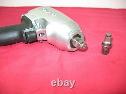 Snapon Tools Universal 3/8 & 1/2 Drive Air Impact Wrench/gun New Old Stock