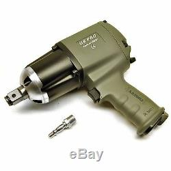 US Pro INDUSTRIAL 3/4 drive Impact Gun / wrench 880FTLB AT568