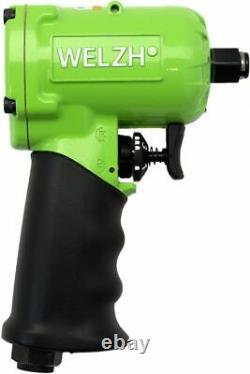 Welzh Werkzeug Mini Short Air Impact Wrench Gun 1/2 800NM 1KG 3114-1-WW